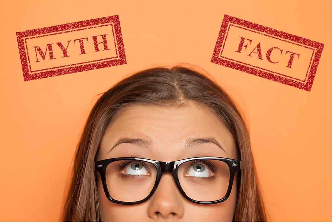 Mitos sobre la regla